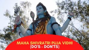16 Things You SHOULDN'T DO while Worshiping Mahadev on Maha Shivaratri